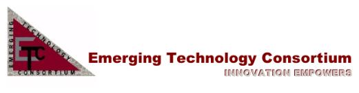 Emerging Technology Consortium